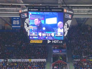 LED obrazovka - sport
