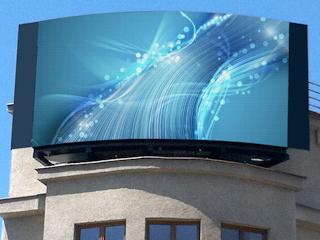 LED obrazovka - reklama
